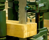 Ihdustrial band saw sawmill royalty free stock image