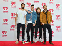 IHeartRadio festiwal muzyki Obraz Royalty Free