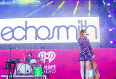 IHeartRadio Music Festival Stock Photo