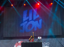 IHeartRadio Music Festival Stock Photography