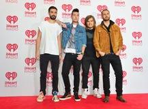 IHeartRadio musikfestival Royaltyfri Bild
