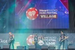 IHeartRadio musikfestival Arkivfoto