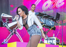 IHeartRadio musikfestival royaltyfri fotografi