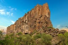 Ihlara谷在卡帕多细亚土耳其 库存图片