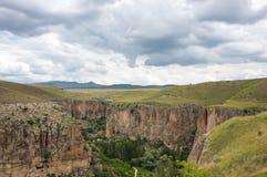 Ihlara valley in Cappadocia, Turkey Royalty Free Stock Photos