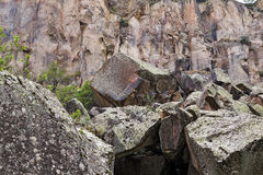 The Ihlara valley in Cappadocia - Turkey Stock Image