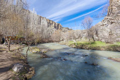 Ihlara valley. Turkey. View of Ihlara valley in Turkey Royalty Free Stock Image