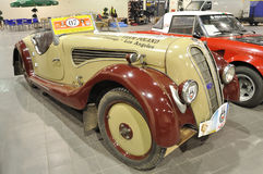 IHLE-DKW 1934. Vintage Car 1934 IHLE-DKW in the automotive exhibition OLDTIMER BAZAR Royalty Free Stock Photography