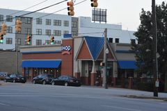 IHOP, Columbia, South Carolina. International House of Pancakes in Columbia, South Carolina royalty free stock image