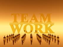 Ihr Arbeitsteam, Teamwork Lizenzfreie Stockfotografie