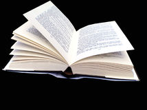 Ihr ein geöffnetes Buch Lizenzfreie Stockfotografie