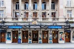 Ihr Majestys-Theater, das Phantom der Oper zeigt lizenzfreie stockbilder