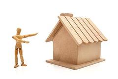 Ihr neues Haus Lizenzfreies Stockbild