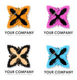 Ihre Firma Logo Designs Lizenzfreie Stockbilder