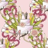 Ihre süße Hochzeit Stockbild