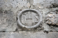 IHS sign Royalty Free Stock Photos