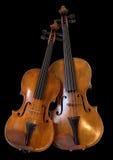 ii中提琴小提琴 库存照片
