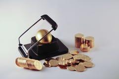 ii做的货币 免版税库存图片