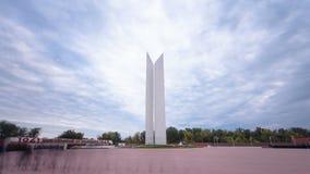 II在乌拉尔斯克timelapse hyperlapse的世界大战纪念碑 影视素材