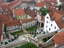 ii布拉格屋顶 库存照片