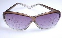 ii湿的太阳镜 免版税图库摄影
