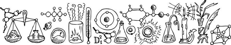 ii科学的实验室 图库摄影