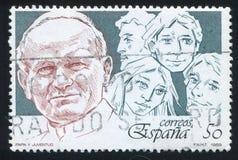 ii约翰・保罗教皇 免版税库存照片