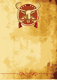ii通配西部的海报 皇族释放例证
