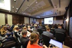 II årlig internationell konferens av ledarna och de ledande specialisterna Royaltyfria Foton