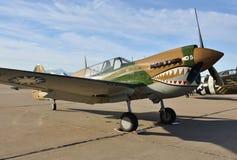 II-ère Curtiss P-40 Warhawk de guerre photos stock