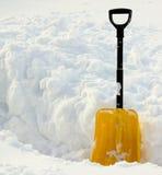 ii łopata śnieg Zdjęcia Royalty Free