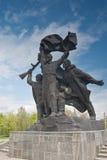 对战争世界的英雄ii纪念碑 免版税库存照片