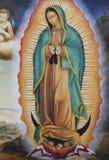 圣母玛丽亚瓜达卢佩河II 库存照片