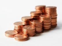 ii centów Zdjęcia Stock
