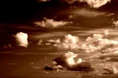 ii do tła niebo fotografia stock