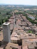 ii do Toskanii Zdjęcie Royalty Free