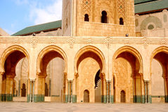 II. Hassan Mosque, Casablanca, Morocco Royalty Free Stock Photography
