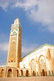 II. Hassan Mosque, Casablanca, Morocco. The second biggest Islamic mosque in the world in Casablanca Stock Images