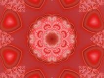 ii kalejdoskop serc ilustracja wektor