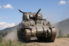 ii m4a1谢尔曼坦克ww 免版税库存图片