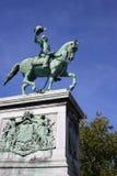 ii monument wilhelm Royaltyfri Foto