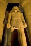 ii noc ramses statua Zdjęcie Stock
