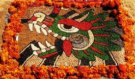 ii quetzalcoatl Fotografia Stock