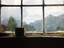 ii rocznych okno Obrazy Royalty Free