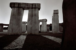 ii stonehenge 免版税库存图片