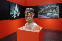 II street art biennale ArtMosSphere in Moscow Stock Photo