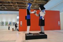 II street art biennale ArtMosSphere in Moscow Stock Photos