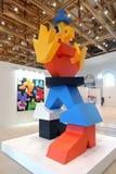 II street art biennale ArtMosSphere in Moscow Stock Image