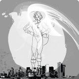 ii superwoman Fotografia Stock