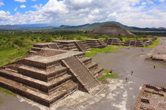 ii teotihuacan 免版税图库摄影